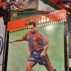 Coleccionismo deportivo: FOTO POSTER DEL JUGADOR DEL BARCELONA SERGI CON LA PUBLICIDAD DE LA MARCA KAPPA. Lote 243263390