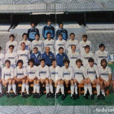 Coleccionismo deportivo: POSTER REAL MADRID FÚTBOL. 1983.. Lote 246043605
