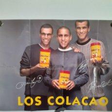Coleccionismo deportivo: CARTEL DE COLACAO, AÑOS 90,MIDE 74 X50 CM. Lote 248504415