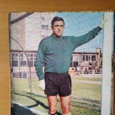 Coleccionismo deportivo: PÓSTER DEL PORTERO BILBAO DEL BARAKALDO CLUB DE FÚTBOL DE LOS AÑOS 70. Lote 248697435