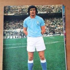 Coleccionismo deportivo: PÓSTER DE APARICIO DEL REAL CLUB CELTA DE VIGO DE LOS AÑOS 70. Lote 248697630