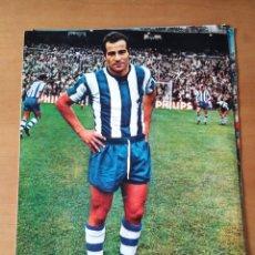 Coleccionismo deportivo: PÓSTER DE BORONAT DE LA REAL SOCIEDAD DE SAN SEBASTIÁN DE LOS AÑOS 70. Lote 248697925