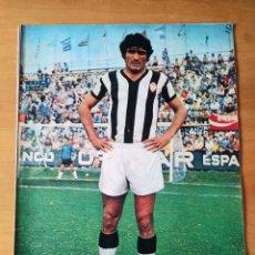 Coleccionismo deportivo: PÓSTER DE BABILONI DEL CLUB DEPORTIVO CASTELLÓN DE LOS AÑOS 70. Lote 248698125