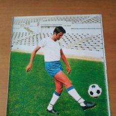 Coleccionismo deportivo: PÓSTER DE GARCÍA CASTANY DEL REAL ZARAGOZA DE LOS AÑOS 70. Lote 248698705