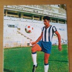 Coleccionismo deportivo: PÓSTER DEL CLUB DEPORTIVO MÁLAGA DE MONTREAL ME LOS AÑOS 70. Lote 248698925