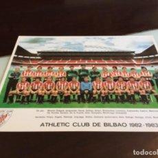 Collezionismo sportivo: ANTIGUO TARJETON ATHLETIC CLUB DE BILBAO 1982 ANTIGUO SAN MAMES. Lote 251454245