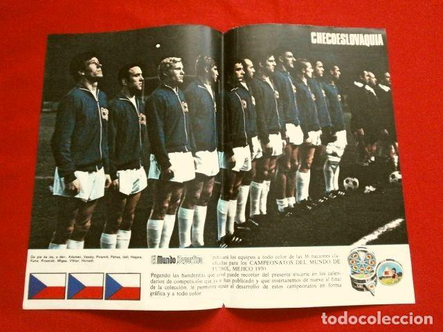 Coleccionismo deportivo: Mundial de Futbol MEXICO 70 - Coleccion Completa Posters 16 Selecciones Participantes (1970) Difícil - Foto 10 - 251868275