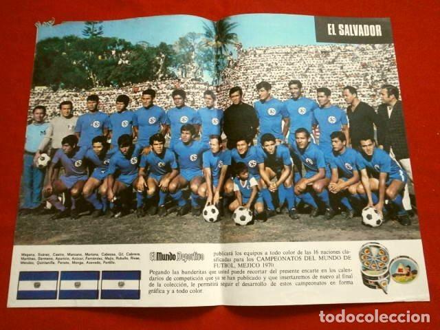 Coleccionismo deportivo: Mundial de Futbol MEXICO 70 - Coleccion Completa Posters 16 Selecciones Participantes (1970) Difícil - Foto 13 - 251868275