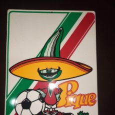 Coleccionismo deportivo: MASCOTA MÉXICO 86.26 CM X 40 CM.. Lote 254039540