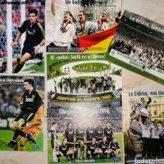 Coleccionismo deportivo: LAMINAS DEL REAL MADRID. - CAMPEONES 8 COPA DE EUROPA 2000 - EDITADAS -ABC - ENVIO INCLUIDO.. Lote 254049460