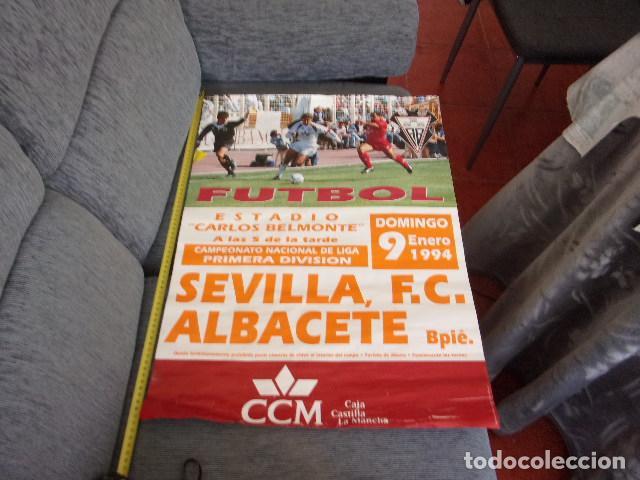 Coleccionismo deportivo: albacete Bpie-sevilla futbol 1 division,año 1994 - Foto 2 - 255410980