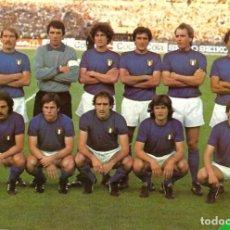 Coleccionismo deportivo: SELECCIÓN DE FÚTBOL DE ITALIA: GRAN RECORTE DE UN EQUIPO DE LOS PRIMEROS AÑOS 80. Lote 255977830