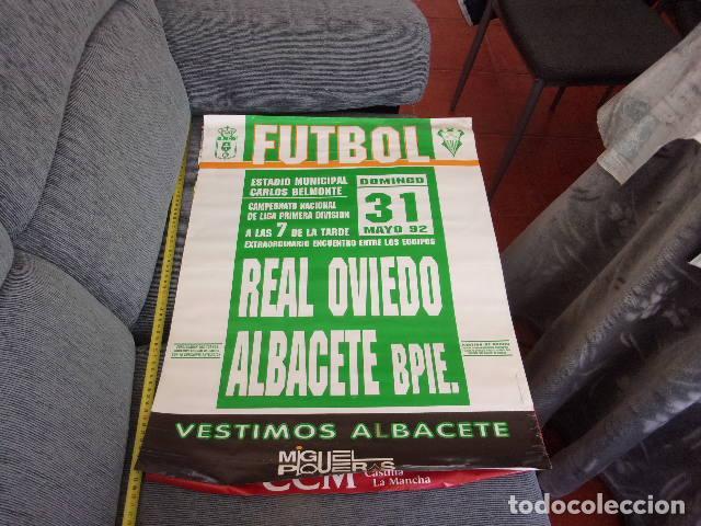 Coleccionismo deportivo: campeonato liga 1 division Real Oviedo-Albacete Bpie año 1992 - Foto 3 - 257796670