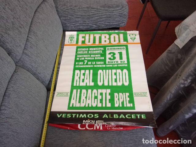 Coleccionismo deportivo: campeonato liga 1 division Real Oviedo-Albacete Bpie año 1992 - Foto 4 - 257796670