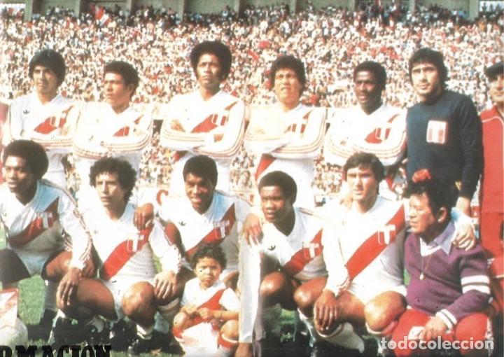 SELECCIÓN DE FÚTBOL DE PERÚ. PÓSTER DE1982 (Coleccionismo Deportivo - Carteles de Fútbol)