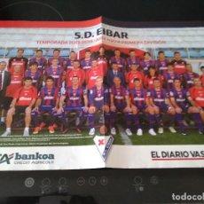 Coleccionismo deportivo: S.D. EIBAR TEMPORADA 2013-2014 ASCENSO A PRIMERA DIVISION. Lote 262040350
