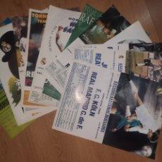Coleccionismo deportivo: POSTERS DEL REAL MADRID. Lote 262097320