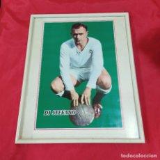 Coleccionismo deportivo: POSTER DI STEFANO ENMARCADO (2822/21). Lote 262188835