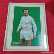 Coleccionismo deportivo: POSTER GENTO ENMARCADO (2824/21). Lote 262189600