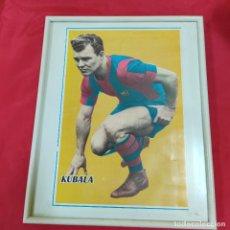 Coleccionismo deportivo: POSTER KUBALA ENMARCADO (2825/21). Lote 262190095