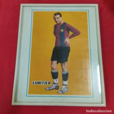 Coleccionismo deportivo: POSTER SAMITIER ENMARCADO (2826/21). Lote 262190325