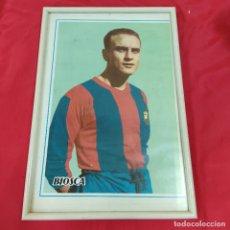 Coleccionismo deportivo: POSTER BIOSCA ENMARCADO (2828/21). Lote 262192665