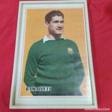 Coleccionismo deportivo: POSTER RAMALLETS ENMARCADO (2830/21). Lote 262193045