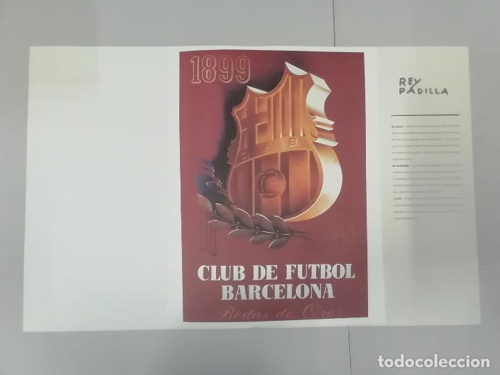 Coleccionismo deportivo: FESTA FUNDACIÓ FUTBOL CLUB BARCELONA 1899-2001 - CARTELLS DE NOCES : MIRÓ TÀPIES SEGRELLES... - Foto 3 - 262856645