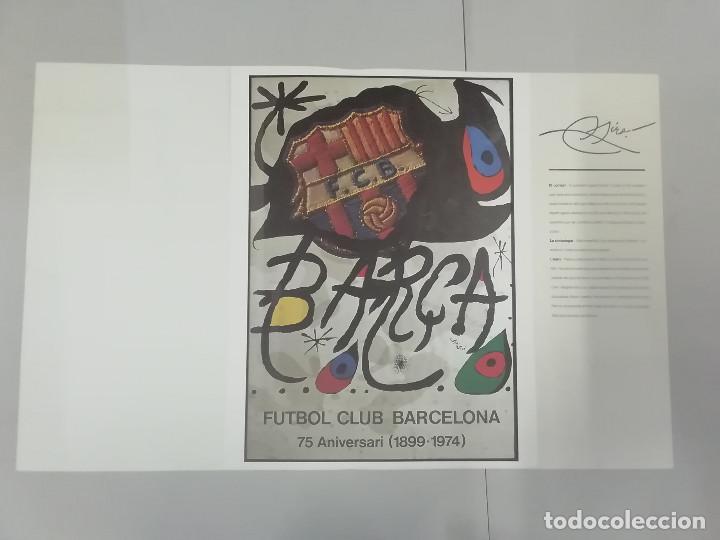 Coleccionismo deportivo: FESTA FUNDACIÓ FUTBOL CLUB BARCELONA 1899-2001 - CARTELLS DE NOCES : MIRÓ TÀPIES SEGRELLES... - Foto 5 - 262856645