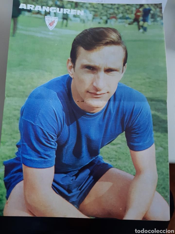 Coleccionismo deportivo: Lote de 20 poster Athletic Club de Bilbao 1973-1974 Iribar Rojo - Foto 4 - 262905350