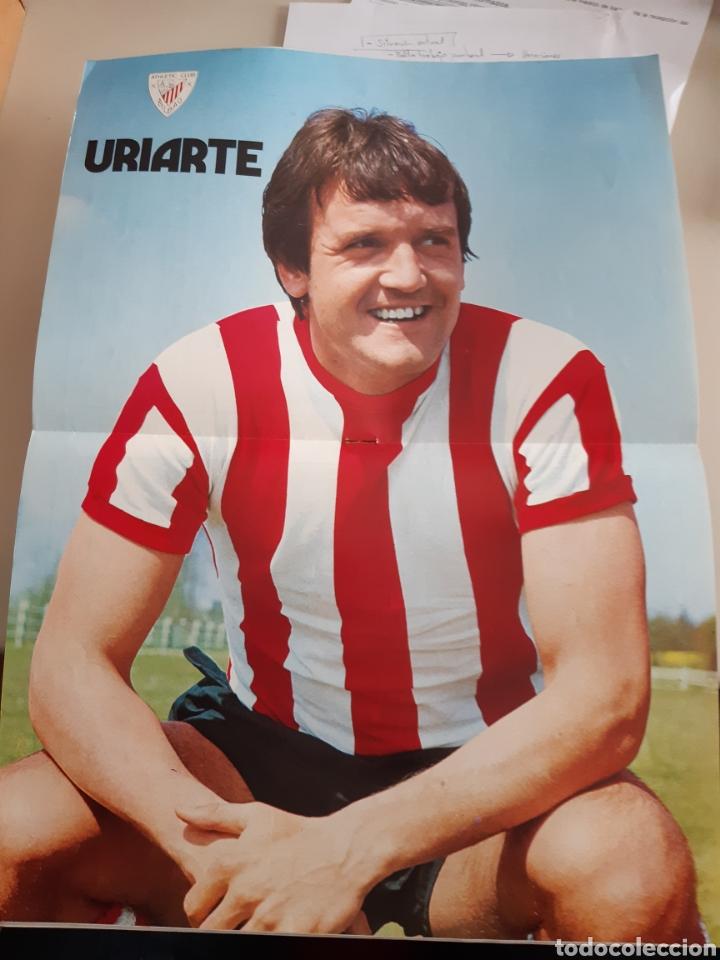 Coleccionismo deportivo: Lote de 20 poster Athletic Club de Bilbao 1973-1974 Iribar Rojo - Foto 5 - 262905350