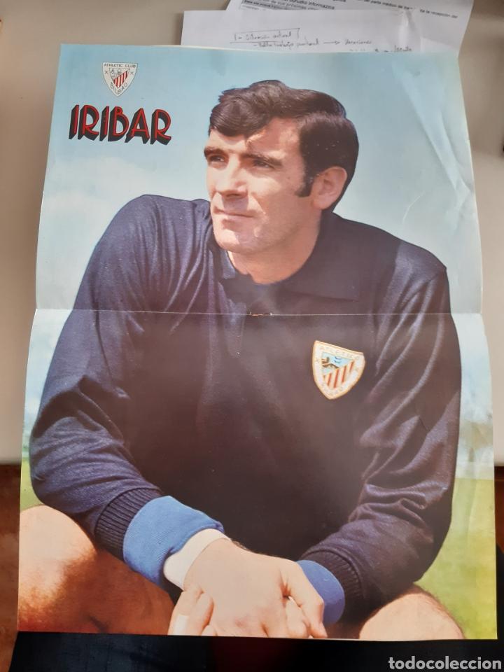 Coleccionismo deportivo: Lote de 20 poster Athletic Club de Bilbao 1973-1974 Iribar Rojo - Foto 6 - 262905350