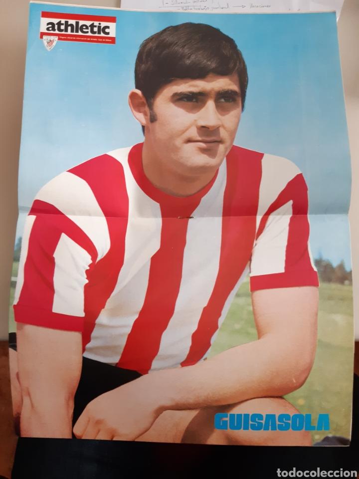 Coleccionismo deportivo: Lote de 20 poster Athletic Club de Bilbao 1973-1974 Iribar Rojo - Foto 10 - 262905350