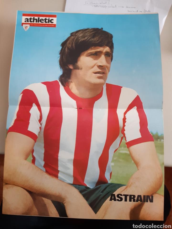 Coleccionismo deportivo: Lote de 20 poster Athletic Club de Bilbao 1973-1974 Iribar Rojo - Foto 11 - 262905350