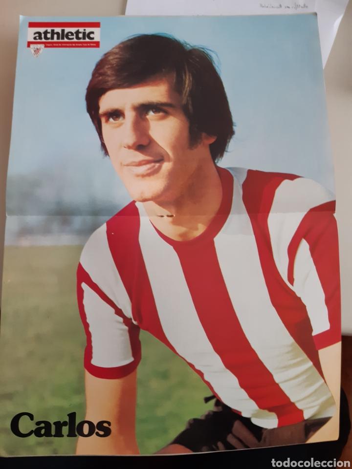 Coleccionismo deportivo: Lote de 20 poster Athletic Club de Bilbao 1973-1974 Iribar Rojo - Foto 14 - 262905350