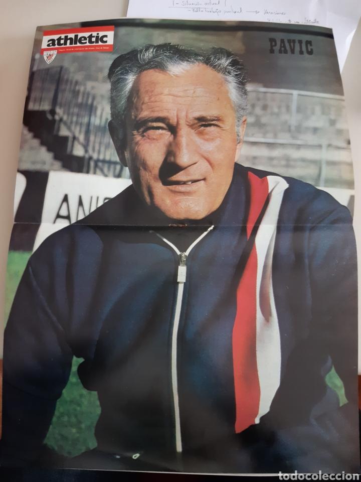 Coleccionismo deportivo: Lote de 20 poster Athletic Club de Bilbao 1973-1974 Iribar Rojo - Foto 15 - 262905350