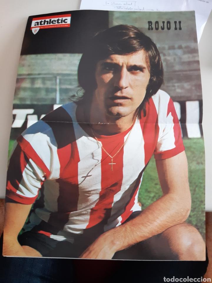 Coleccionismo deportivo: Lote de 20 poster Athletic Club de Bilbao 1973-1974 Iribar Rojo - Foto 16 - 262905350
