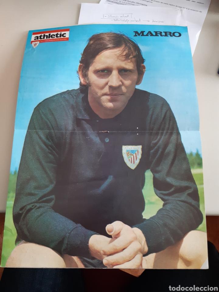 Coleccionismo deportivo: Lote de 20 poster Athletic Club de Bilbao 1973-1974 Iribar Rojo - Foto 17 - 262905350