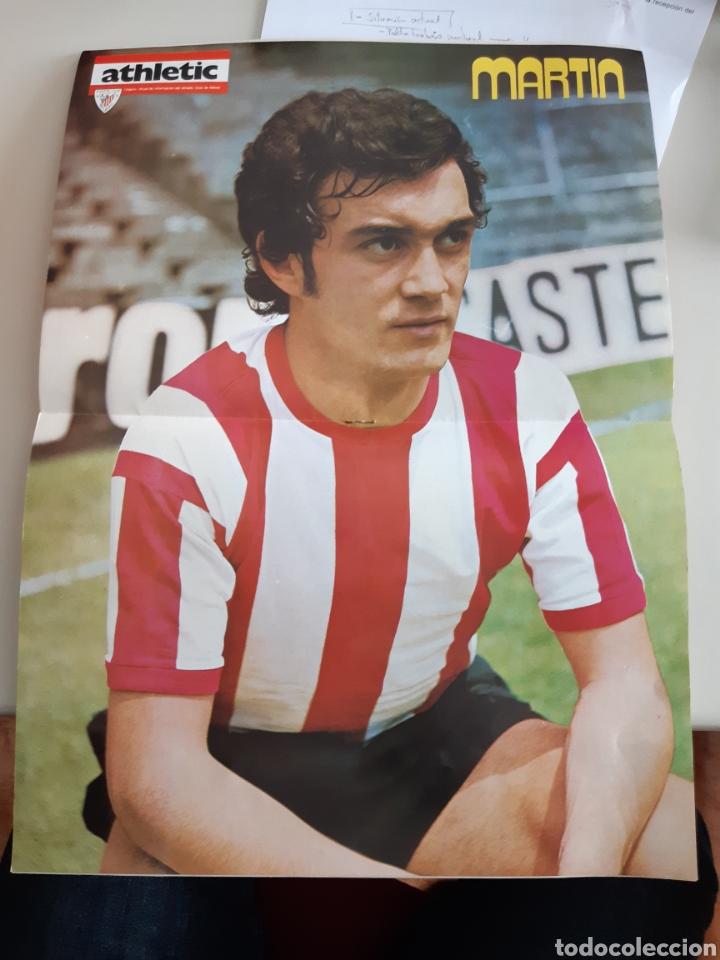 Coleccionismo deportivo: Lote de 20 poster Athletic Club de Bilbao 1973-1974 Iribar Rojo - Foto 19 - 262905350