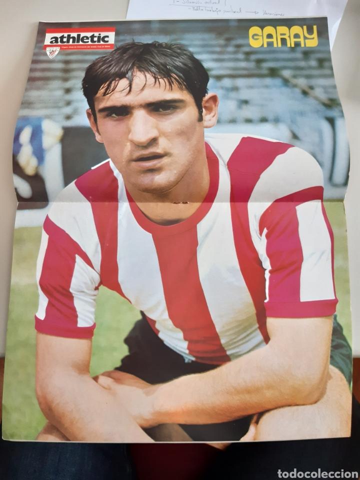 Coleccionismo deportivo: Lote de 20 poster Athletic Club de Bilbao 1973-1974 Iribar Rojo - Foto 20 - 262905350