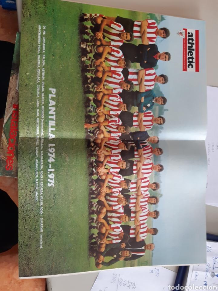 Coleccionismo deportivo: Lote de 20 poster Athletic Club de Bilbao 1973-1974 Iribar Rojo - Foto 21 - 262905350
