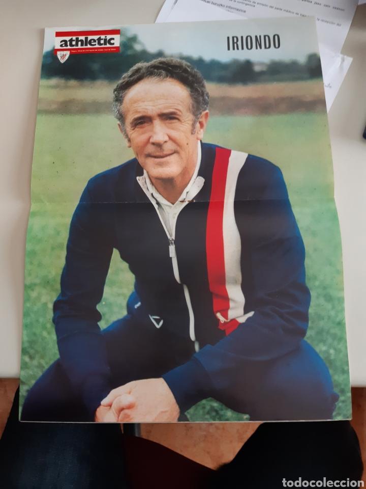 Coleccionismo deportivo: Lote de 20 poster Athletic Club de Bilbao 1973-1974 Iribar Rojo - Foto 22 - 262905350