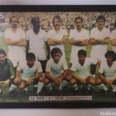 Coleccionismo deportivo: 1979/1980 - POSTER REAL MADRID PLANTILLA 50X35CM. AS COLOR. TEMPORADA 79-80. Lote 265706739
