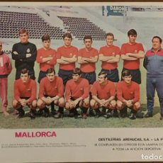 Coleccionismo deportivo: PÓSTER LIGA ESPAÑOLA 69 70. Lote 268260619
