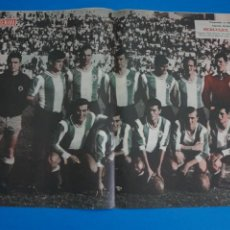 Coleccionismo deportivo: POSTER DE FUTBOL HERCULES C.F. REVISTA SEMANA AÑO 60-61. Lote 268471384