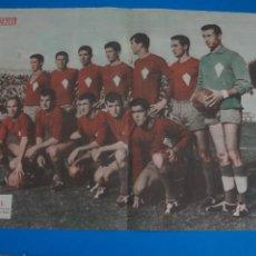 Coleccionismo deportivo: POSTER DE FUTBOL VILLAROBLEDO C.F. REVISTA SEMANA AÑO 60-61. Lote 268577919