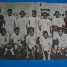 Coleccionismo deportivo: POSTER DE FUTBOL ALBACETE BALOMPIE REVISTA SEMANA AÑO 60-61. Lote 268578364