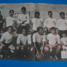 Coleccionismo deportivo: POSTER DE FUTBOL U.D. SALAMANCA REVISTA SEMANA AÑO 60-61. Lote 268578669