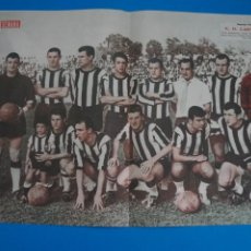 Coleccionismo deportivo: POSTER DE FUTBOL C.D. CARTAGENA REVISTA SEMANA AÑO 60-61. Lote 268578884