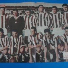 Coleccionismo deportivo: POSTER DE FUTBOL C.D. CASTELLON REVISTA SEMANA AÑO 60-61. Lote 268579004